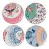 "Wedgwood Harlequin Butterfly Bloom 8.25"" Plate (Set of 4)"