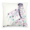 Vue by Ellery Giraffe Embroidered Decorative Throw Pillow