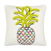 Vue by Ellery Pineapple Embroidered Decorative Throw Pillow