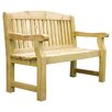 Zest 4 Leisure Emily 2 Seater Timber Bench