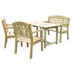 Zest 4 Leisure Caroline 4 Seater Dining Set