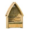Zest 4 Leisure 2 Seater Timber Arbour with Storage
