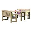 Zest 4 Leisure Emily 4 Seater Dining Set