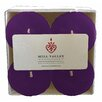 Mill Valley Candleworks Blackberry Sage Scented Votive Candle (Set of 4)