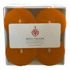 Mill Valley Candleworks Ginger Lemongrass Scented Votive Candle (Set of 4)