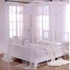 Casablanca Palace Crystal Sheer Panel Bed Canopy