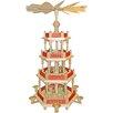 Alexander Taron 3-Level Nativity Pyramid in Natural Wood