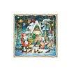 Alexander Taron Korsch Santa, Elves, Angels with Gingerbread Motif Advent Calendar (Set of 2)