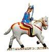 Alexander Taron Tin Solider and Horse Ornament (Set of 2)