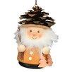 Alexander Taron Christian Ulbricht Pinecone Man Ornament