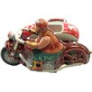 Alexander Taron Collectible Tin Toy Motor Cycle with Sidecard