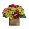 Tree Masters Inc. Floral Mix in Natural Wooden Box