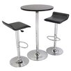 Winsome 3 Piece Pub Round Table Set