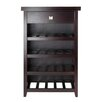 Winsome Zillah 20 Bottle Floor Wine Rack