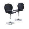 Winsome Shell Adjustable Height Swivel Bar Stool with Cushion (Set of 2)