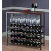 Winsome Michelle 40 Bottle Hanging Wine Rack