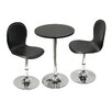 Winsome Spectrum 3 Piece Dining Set
