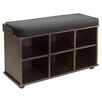 Winsome Townsend 6 Cubby Storage Bench