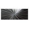 Metal Art Studio Tantalum Composition by Nicholas Yust Graphic Art Plaque