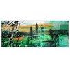 Metal Art Studio 'Green Valley 2' by Megan Duncanson Painting Print Plaque