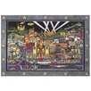 Metal Art Studio 'Hollywood' by Roxy Painting Print Plaque