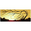 Metal Art Studio 'Golden Harmony' by Megan Duncanson Painting Print Plaque