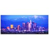 Metal Art Studio Los Angeles City Skyline on Metal or Acrylic by Modern Crowd Urban Cityscape Enhanced Photo Print