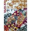 Marzipan Mummy 'Vintage Japanese March Calendar' Graphic Art