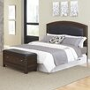 Home Styles Crescent Hill 2 Piece Upholstered Headboard and Bench Set