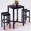 Home Styles Contour 3 Piece Pub Table Set