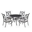 Home Styles Athens 5 Piece Dining Set with Cushions
