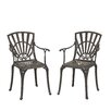 Home Styles Largo Dining Arm Chair (Set of 2)