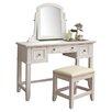 Home Styles Naples Vanity & Stool Set