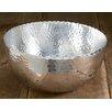 Kindwer Hammered Aluminum Petal Bowl
