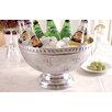 Kindwer Fleur de Lis Aluminum Punch Bowl