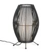 """Zingz & Thingz Bowed Cage 15.87"""" H Table Lamp"""