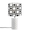 "Zingz & Thingz Mod Graphic 18.87"" H Table Lamp with Drum Shade"