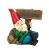 Zingz & Thingz Light-Up Welcome Garden Gnome