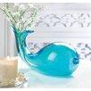 Zingz & Thingz Art-Glass Whale Vase