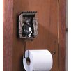 Zingz & Thingz Bear Outhouse Toilet Paper Holder