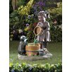 Zingz & Thingz Bucketful Outdoor Fiberglass Fountain