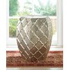 Zingz & Thingz Quatrefoil Metal Stool