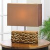 "Zingz & Thingz River Rock 13.38"" H Table Lamp with Rectangular Shade"
