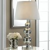 """Zingz & Thingz Broadway Glitz 25.88"""" H Table Lamp with Empire Shade"""