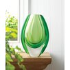 Zingz & Thingz Emerald Art Glass Vase