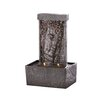 Zingz & Thingz Peaceful Buddha Tabletop Polyresin Fountain