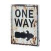 Zingz & Thingz Light-Up One Way Sign Wall Decor