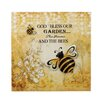 Zingz & Thingz Bumble Bee Garden Graphic Art