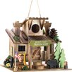 Zingz & Thingz Scout Camp Trading Post Hanging Birdhouse