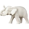 Zingz & Thingz Sleek Ceramic Elephant Figurine